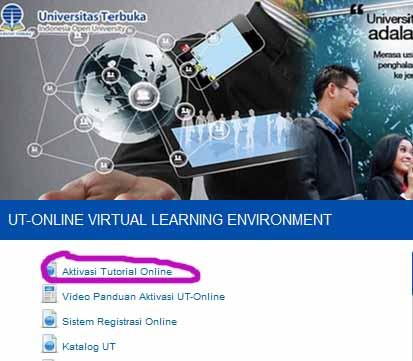 Cara Aktivasi Tutorial Online UT Terbaru