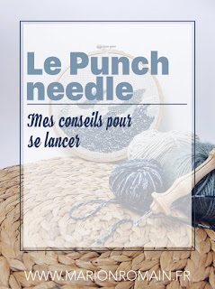 punch needle DIY