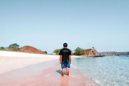 Pesona Pink Beach yang Tak Ada Duanya