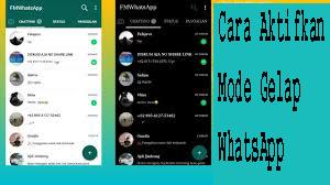 Cara Aktifkan Mode Gelap WhatsApp 1