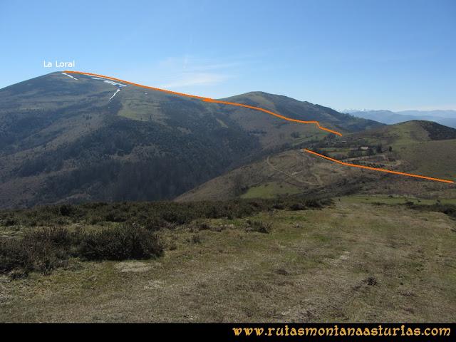 Ruta Linares, La Loral, Buey Muerto, Cuevallagar: Desde el Buey Muerto, hacia Brañas Negras