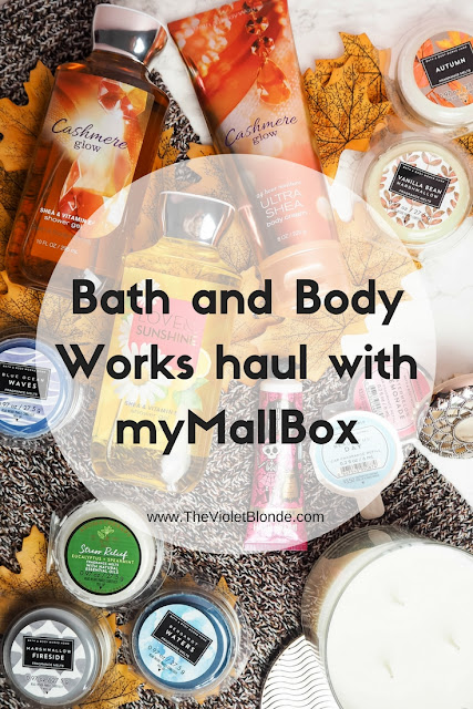 Bath and Body Works haul with myMallBox