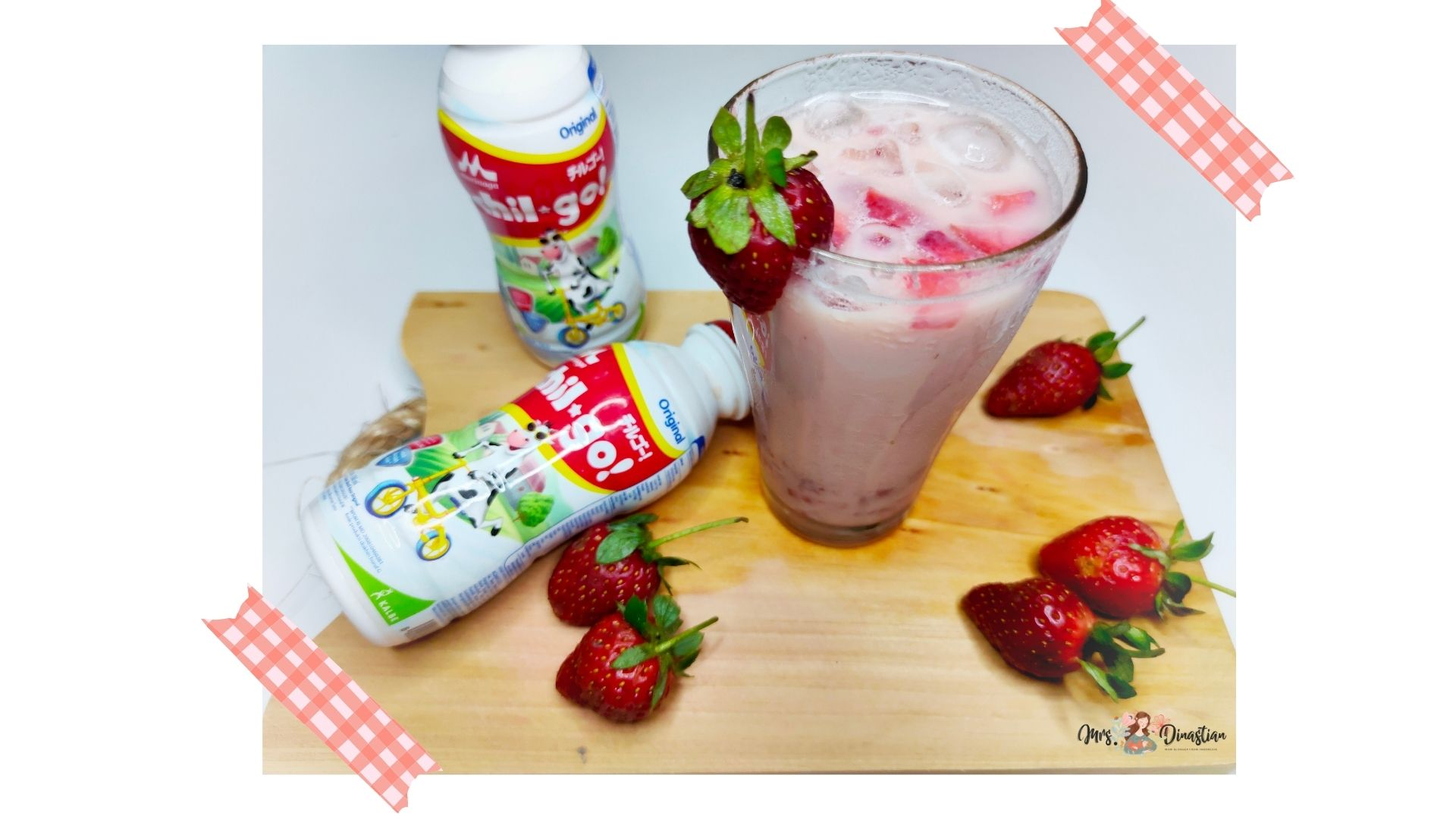 Resep Korean Strawberry Milk