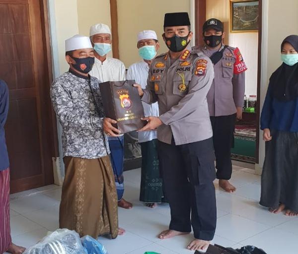 Jelang Ramadhan, Jajaran Polda Banten Gelar Baksos ke Ponpes dan Panti Asuhan
