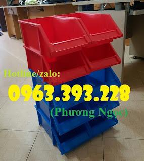 Khay nhựa vát đầu, kệ dụng cụ xếp chồng,khay đựng linh kiện, kệ dụng cụ A8  1b532c29ed5f0801514e