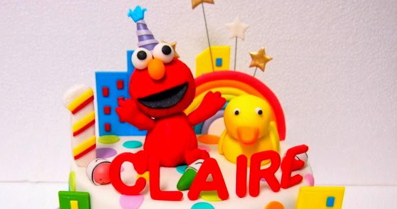 The Sensational Cakes Sweet Elmo With Rubber Duckie Cake