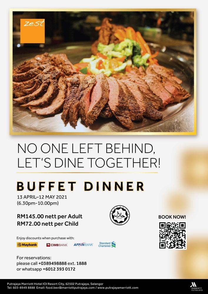 Memori Iftar Bersama, Marriott Putrajaya, Ramadhan 2021, Buka Puasa 2021, Iftar 2021, Rawlins Eats, Rawlins Lifestyle, Rawlins GLAM