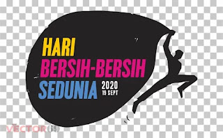 Logo Hari Bersih-bersih Sedunia 2020 - Download Vector File PNG (Portable Network Graphics)