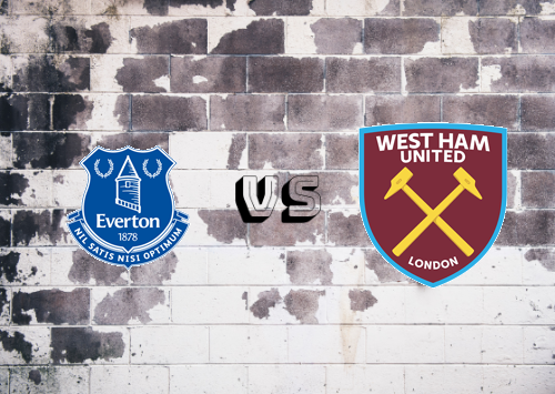 Everton vs West Ham United  Resumen