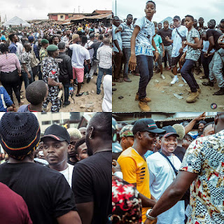 (Photos) Olamide shooting WO video in bariga