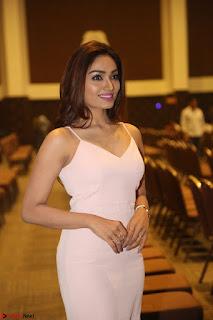 Aishwarya Devan in lovely Light Pink Sleeveless Gown 036.JPG