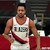 CJ McCollum Cyberface, Hair and Body Model By Five [FOR 2K21]