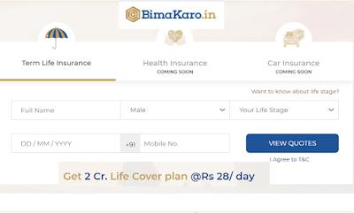 What is Bima Karo, How to Buy Insurance From Bima Karo website
