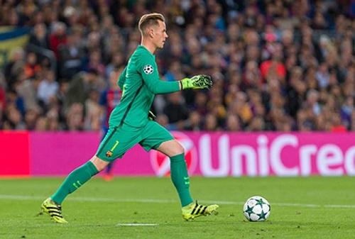 Ter Stegen đã có được những đóng góp quan trọng cho Barca trở thành nhà vô địch Champions League