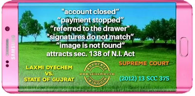 Account closed attracts sec. 138 N.I. Act