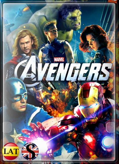 Los Vengadores (2012) HD 720P LATINO/INGLES