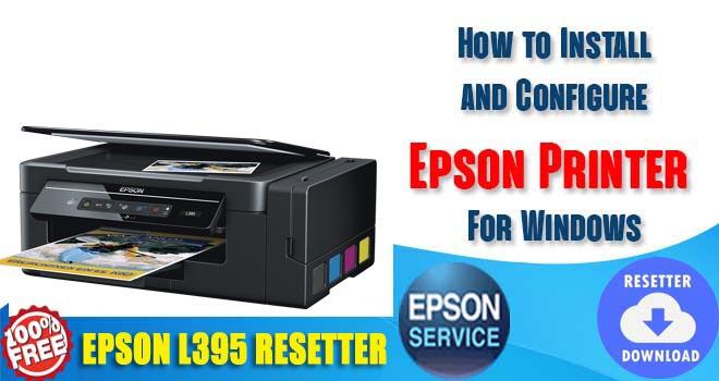 Epson L395 Adjustment Program