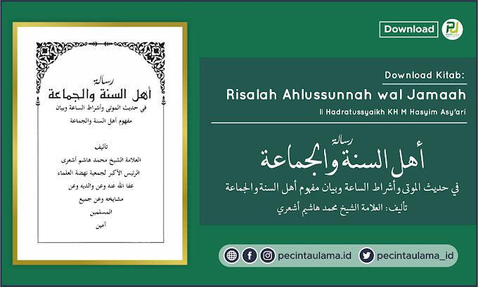 Download Kitab Risalah Ahlussunnah wal Jamaah Karya Hadratussyaikh KH M Hasyim Asy'ari