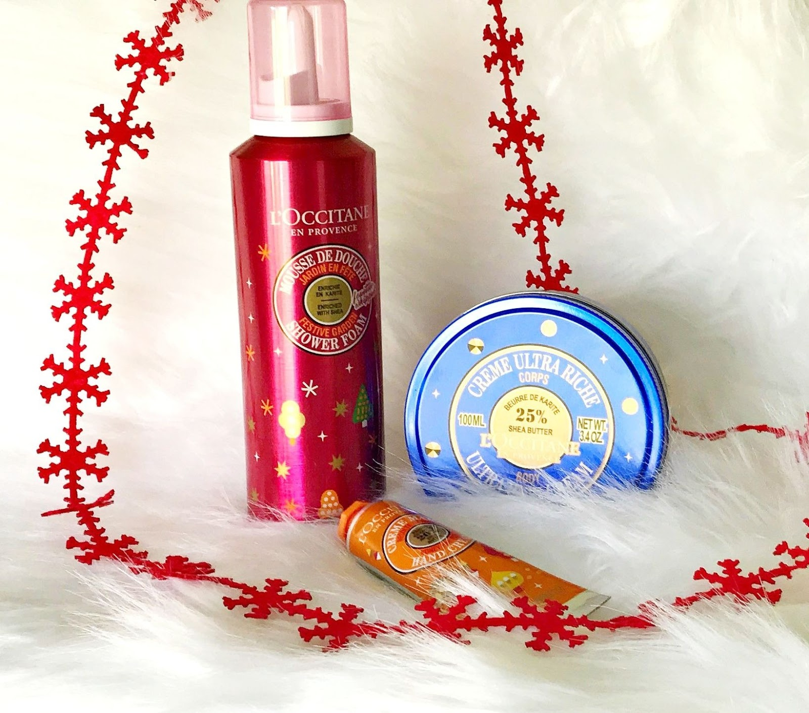L'Occitane festive bath and body releases 2019