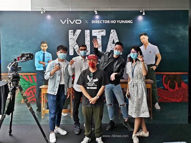 Filem Pendek KITA Sempena Merdeka Dirakam Sepenuhnya Dengan VIVO X50 Pro