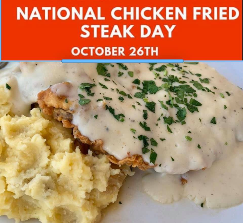 National Chicken Fried Steak Day Wishes Beautiful Image