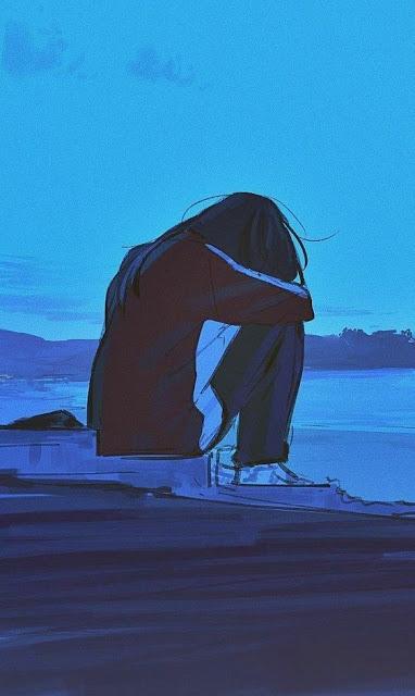 Gambar anime sedih HD