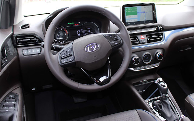 New Hyundai HB20 2020 - interior