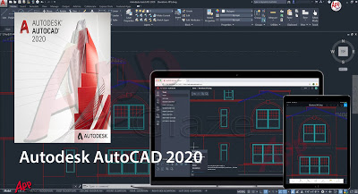 Autodesk AutoCAD 2020 Software & Toolsets for windows PC