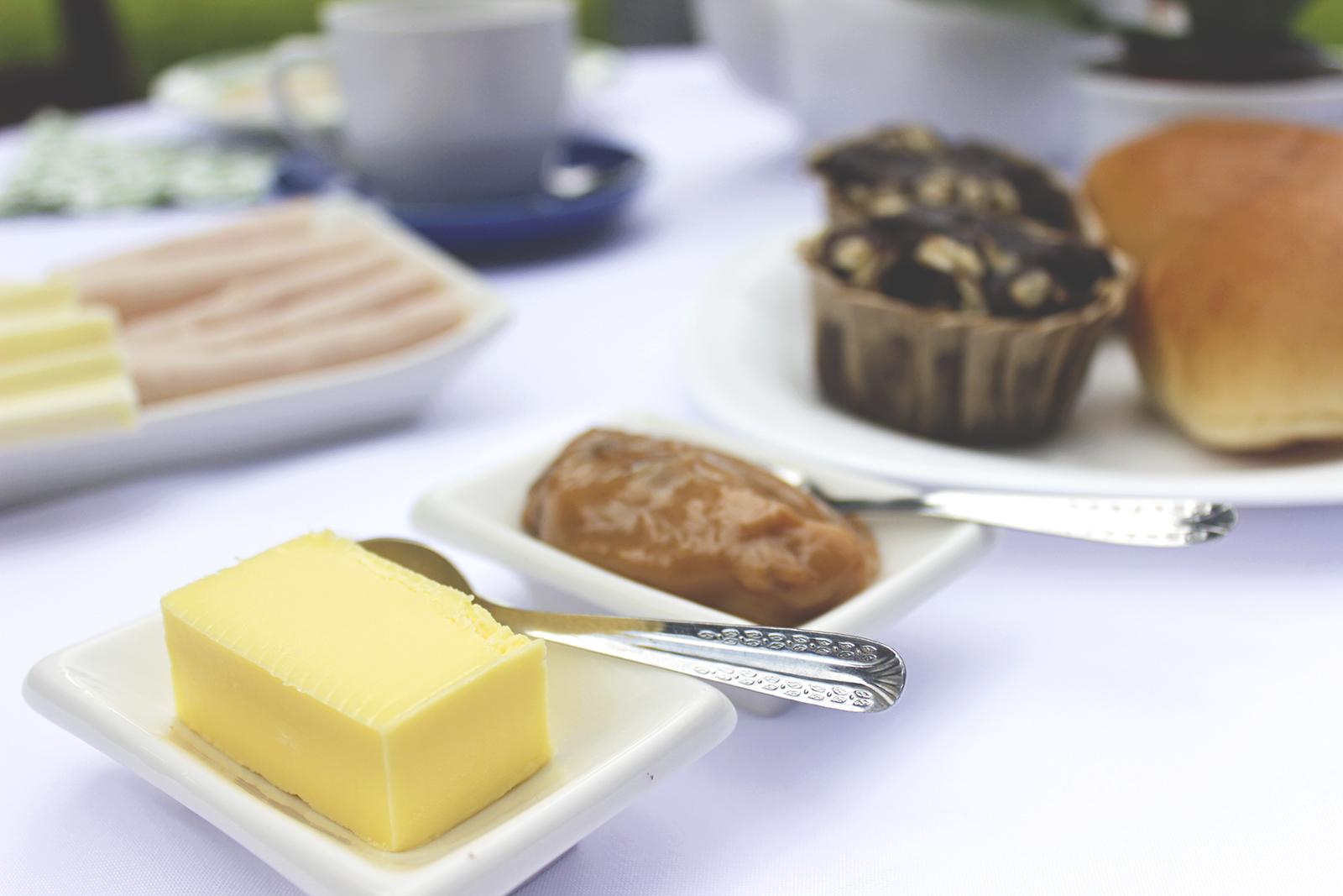 Fazendo um café da manhã especial
