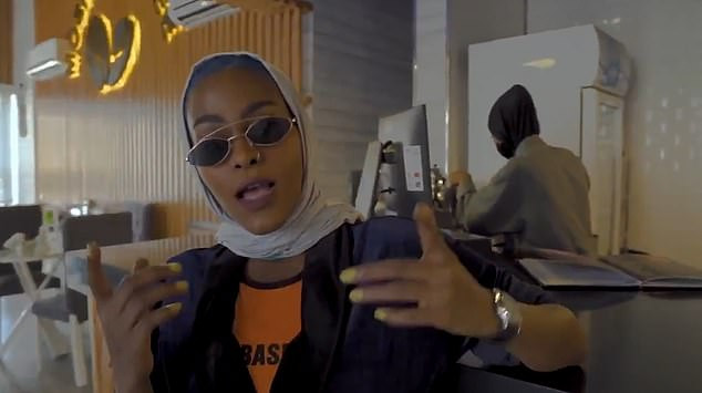 Saudi officials call for the arrest of a female rapper for referring to women from Mecca as 'sugar candy'