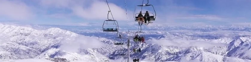 La Parva, winter sports center, Chile.