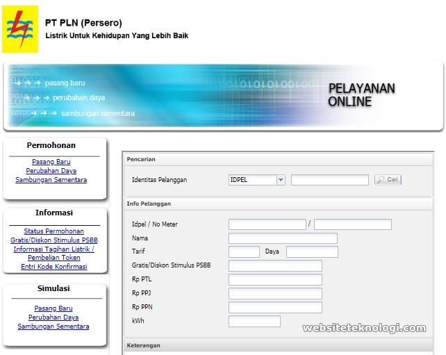 Cara Mudah dan Cepat Mendapatkan Token Listrik Pulsa Subsidi Gratis di layanan.pln.co.id Menggunakan HP Android Maupun Komputer/Laptop