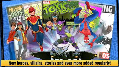 تحميل تطبيق Marvel Hero Tales تعليمي موجّه للأطفال | جديد اخبار التطبيقات