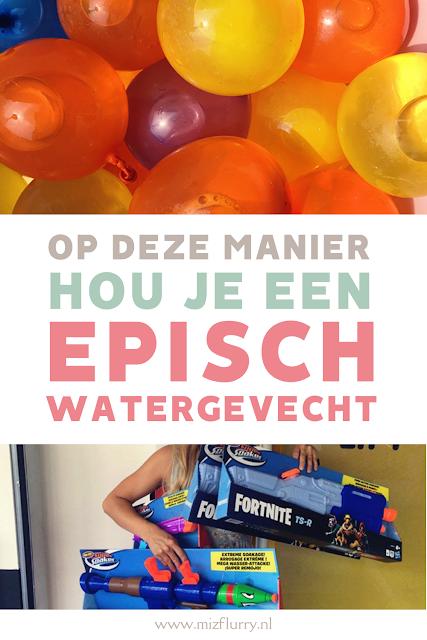 watergevecht Pinterest afbeelding