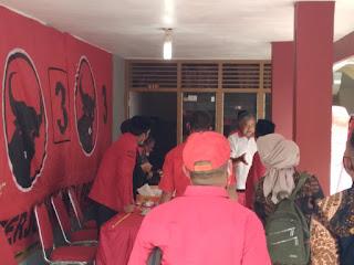 Waduh Kader PAN Sambangi Usai Agenda Kampanye Pasangan Cagub No Urut 1.