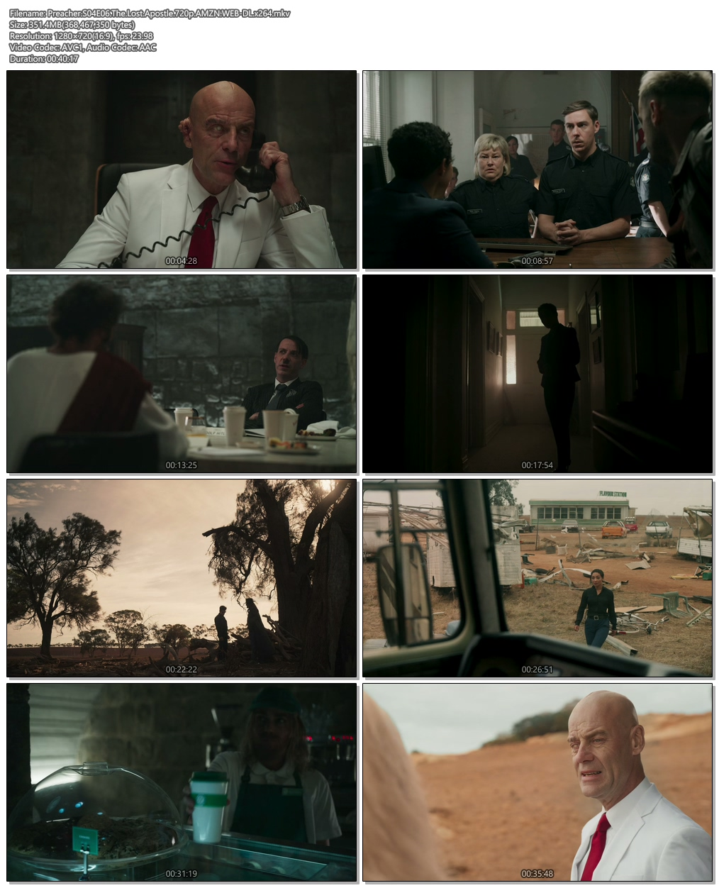 Preacher S04E06 The Lost Apostle 720p AMZN WEB-DL x264 Screenshot