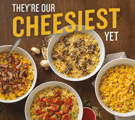 Noodles & Company mac 'n cheese dishes