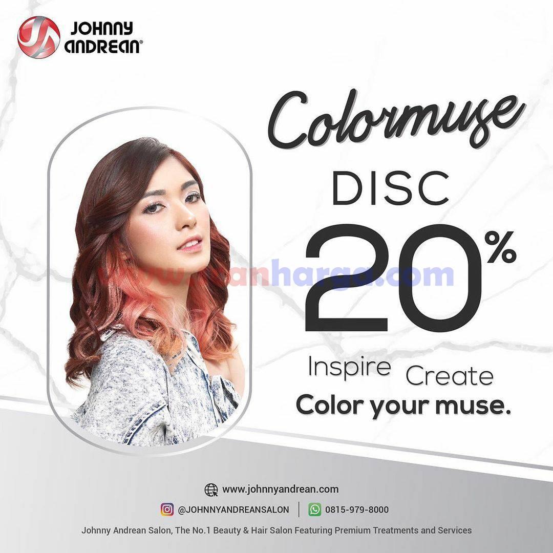 Johnny Andrean Promo Colormuse DISKON 20%