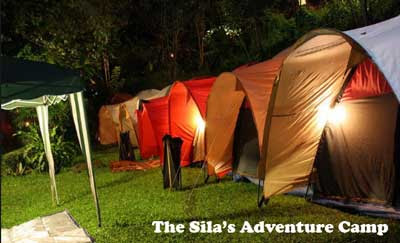 tempat camping the sila's adventure camp