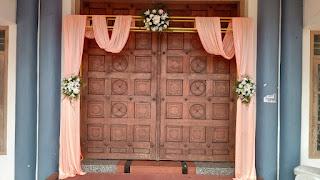 wedding decoration in Kerala