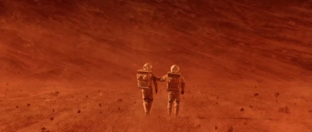 Astronauts in Sandstorm - Mission to Mars movie image