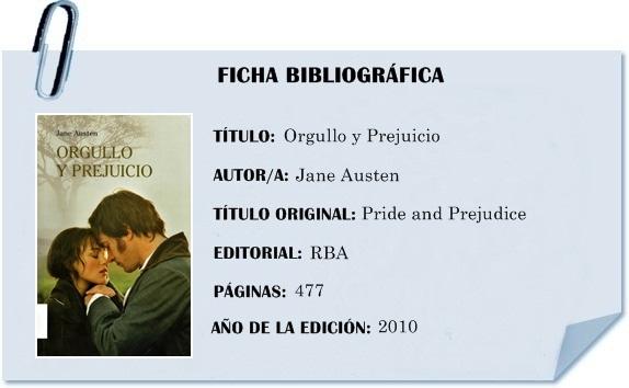 Filóloga Bibliófila •´¯): Reseña: Orgullo y Prejuicio