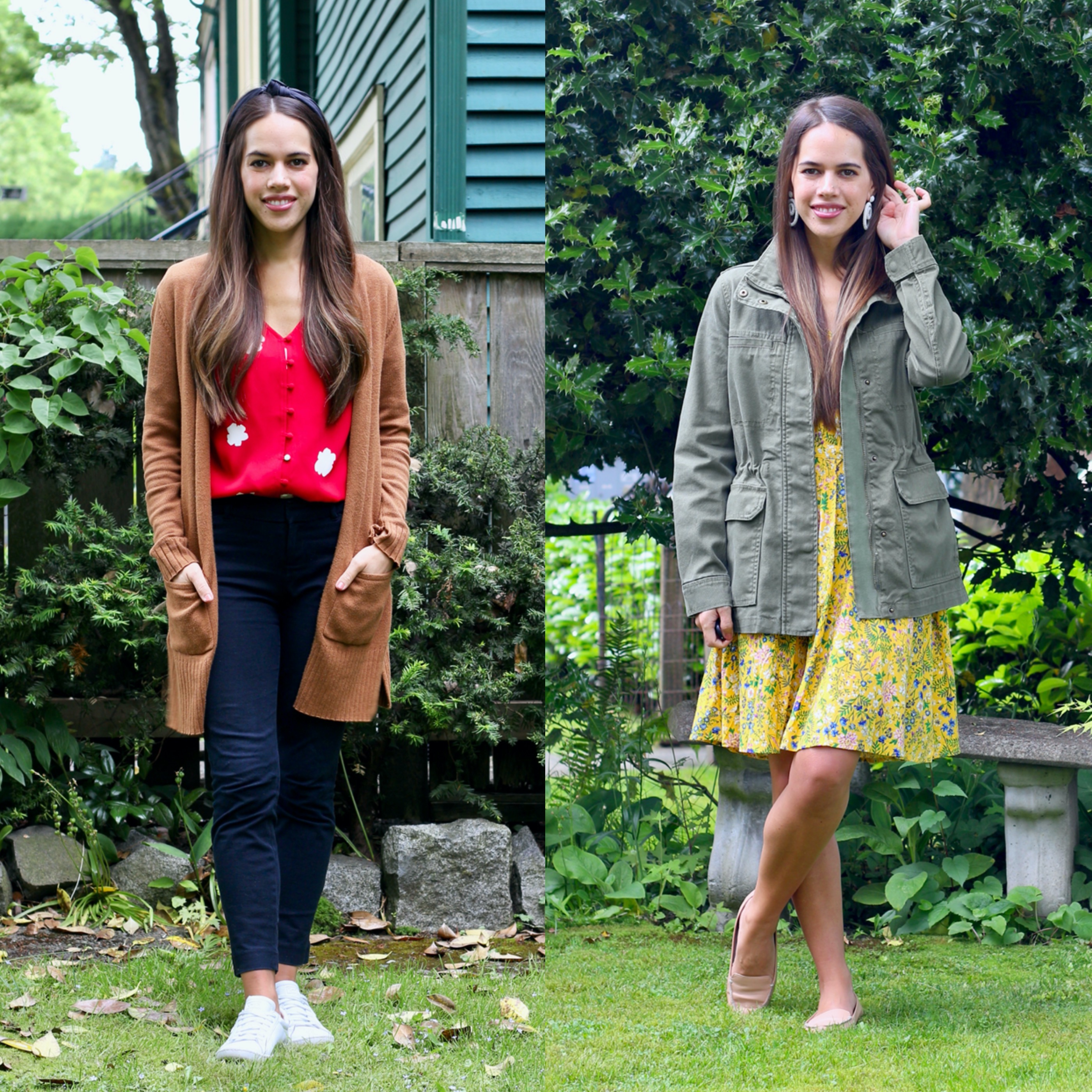 Jules in Flats - June Outfits Week 1 (Business Casual Workwear on a Budget)