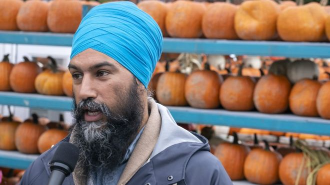 Jagmeet Singh: 'Cut your turban off,' voter tells NDP leader
