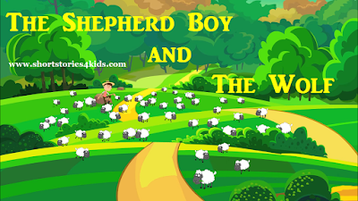 The Shepherd Boy and The Wolf Short Story with pictures and pdf