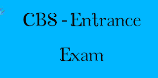 CBS-Entrance Screening Test 2019