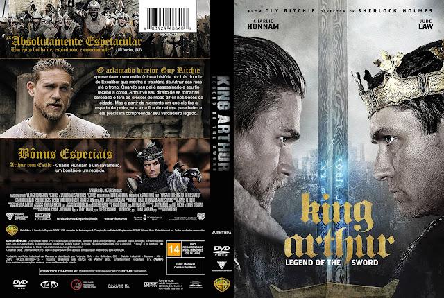 King Arthur Legend Of The Sword DVD Cover