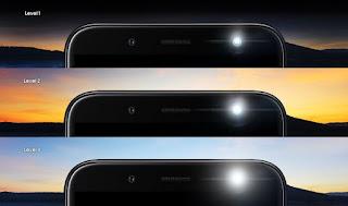 3 Level Kecerahan Lampu Kilat Samsung J Series 2018