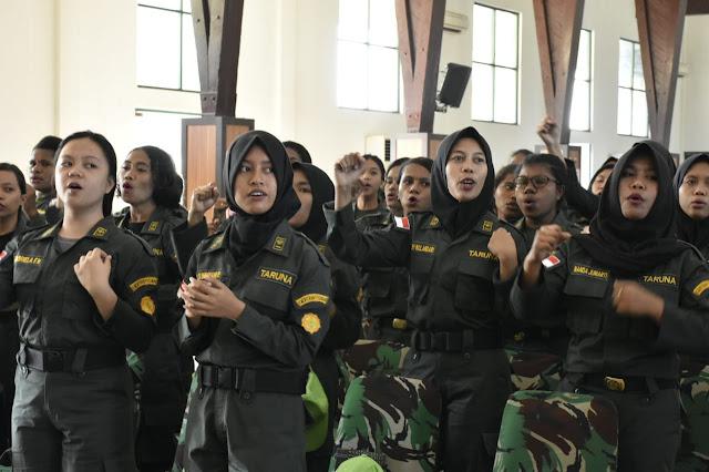 Keren, 85 Mahasiswa Papua Barat Ikuti Bela Negara