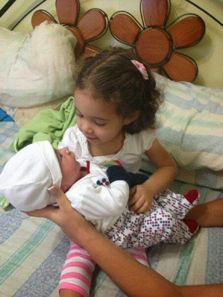 Hija e hijo durmiendo